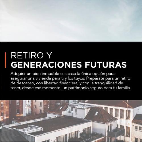 Retiro y generaciones futuras